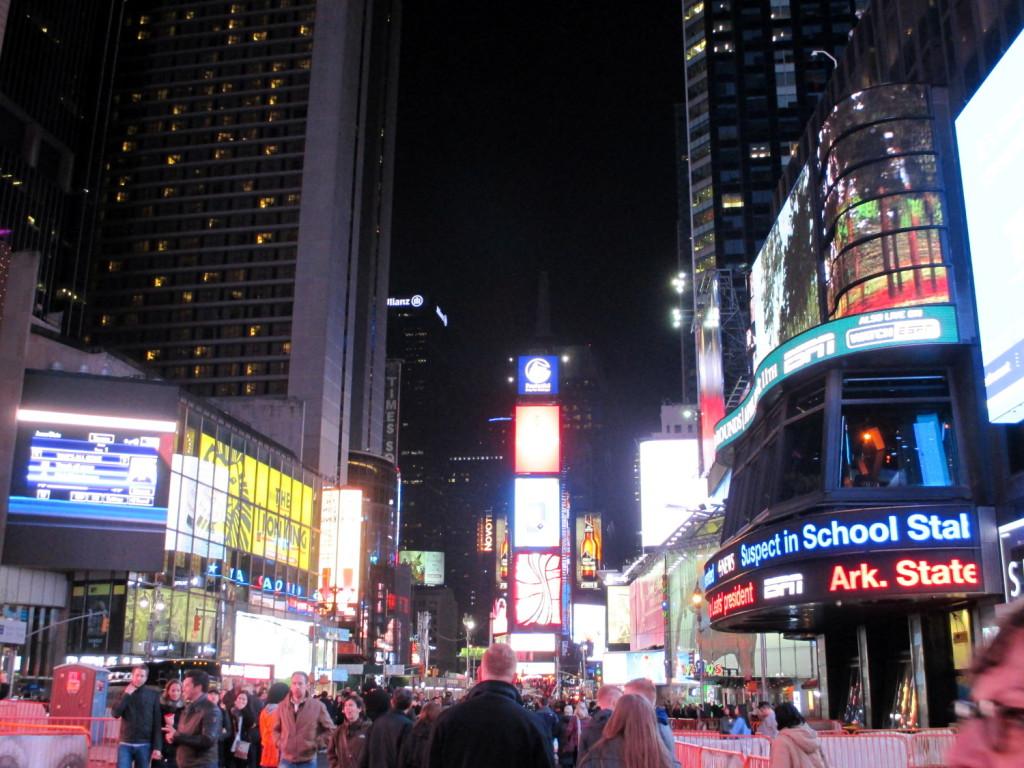 Broadway, la nuit (attention aux yeux).