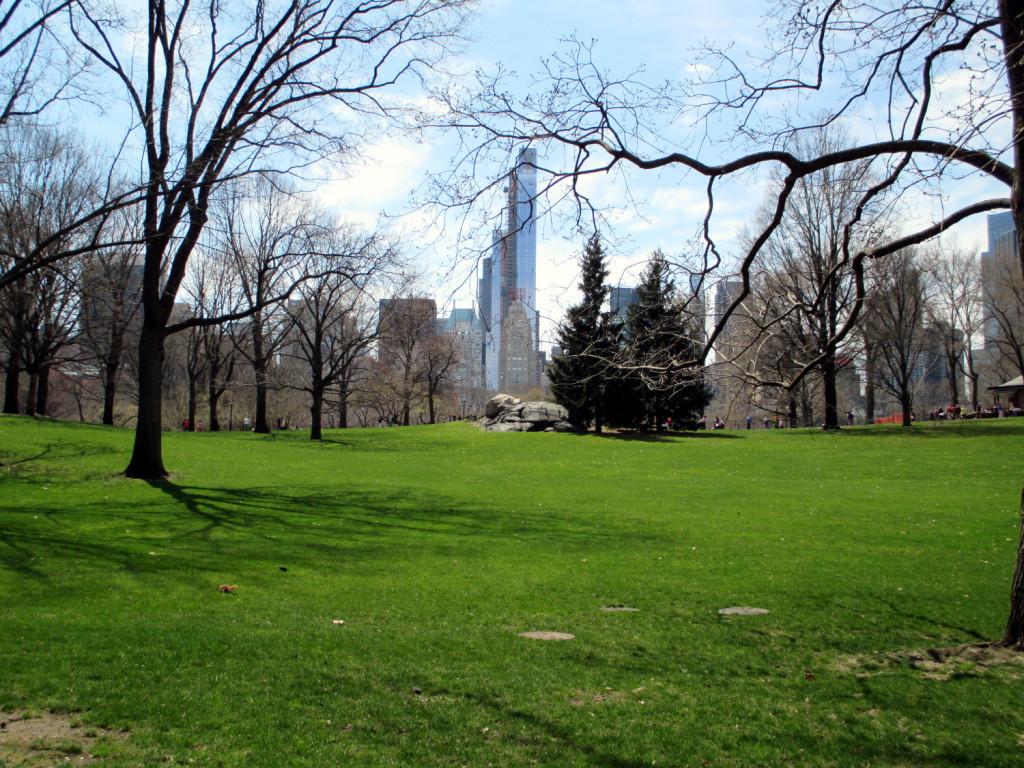 Promenade à Central Park.
