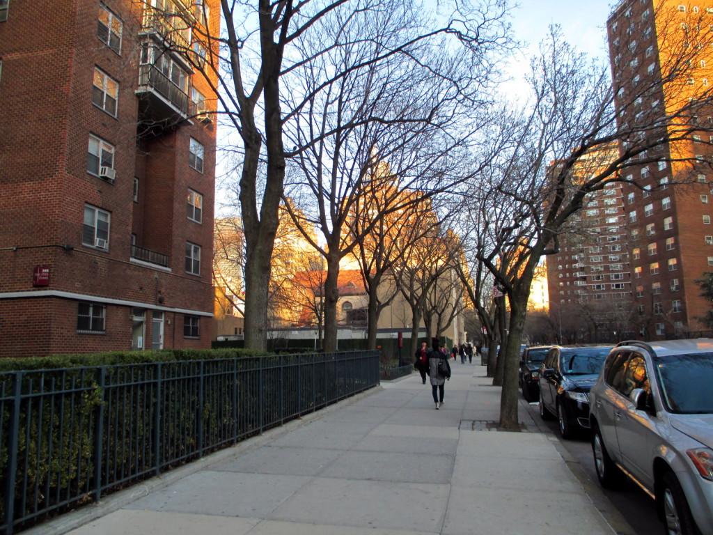 Chelsea, qui est un quartier plutôt différent de ce qu'on voit à Broadway.