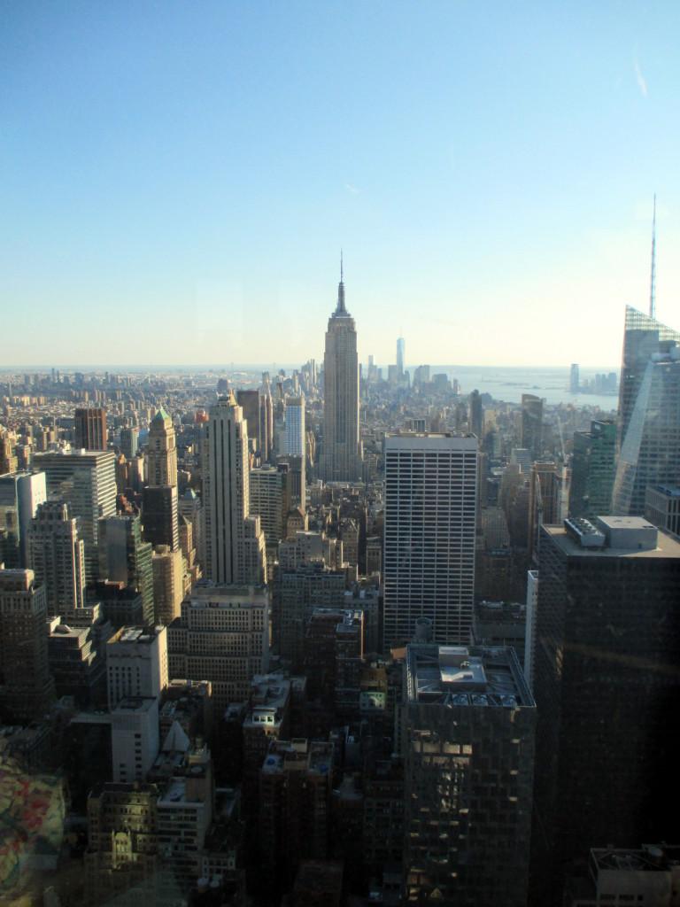 New York vue du Rockfeller Center.