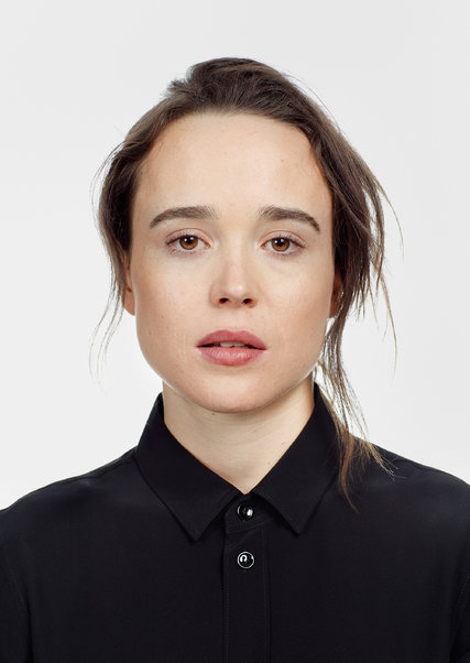 Ellen Page, par Graeme Mitchell pour The New York Times