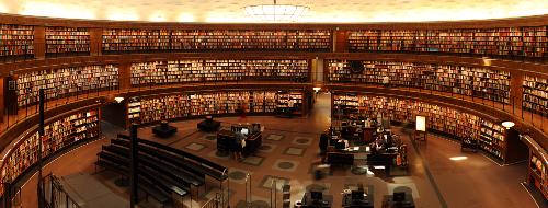 Vous pouvez aussi chercher l'inspiration dans les bibliothèques.