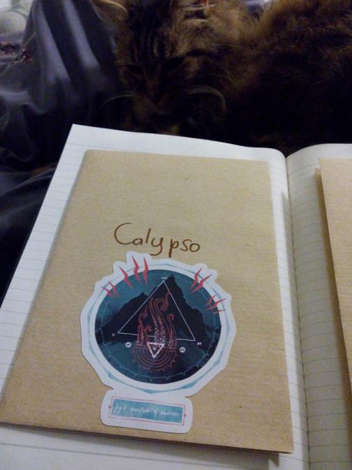Une enveloppe pour un personnage dans mon carnet.