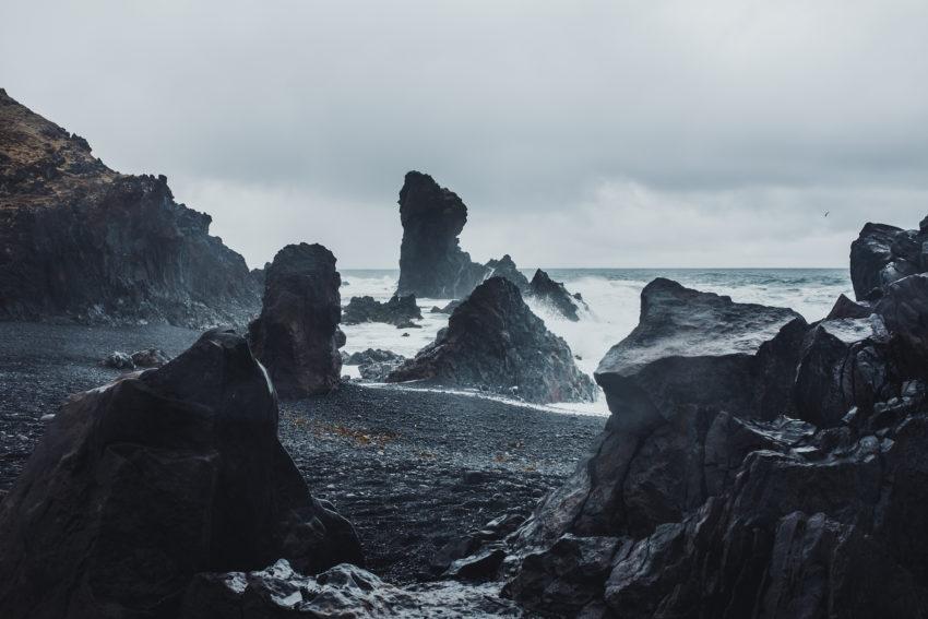 Icelandic seashores by Morten Solvstrom