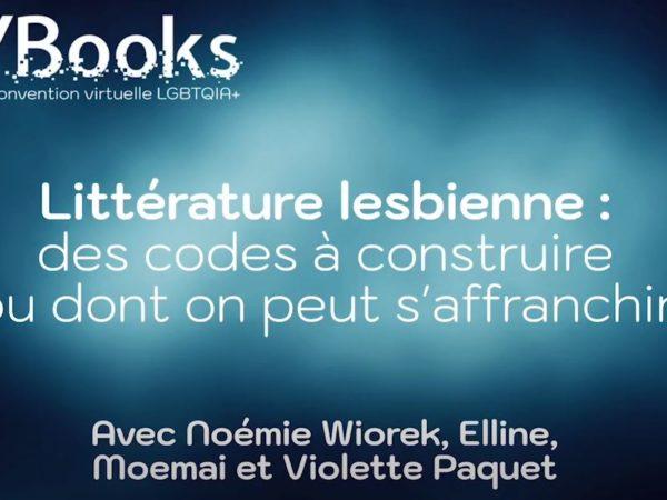 présentation de la table ronde sur la littérature lesbienne